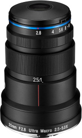 LAOWA 25mm F2.8 2.5-5X ULTRA MACRO