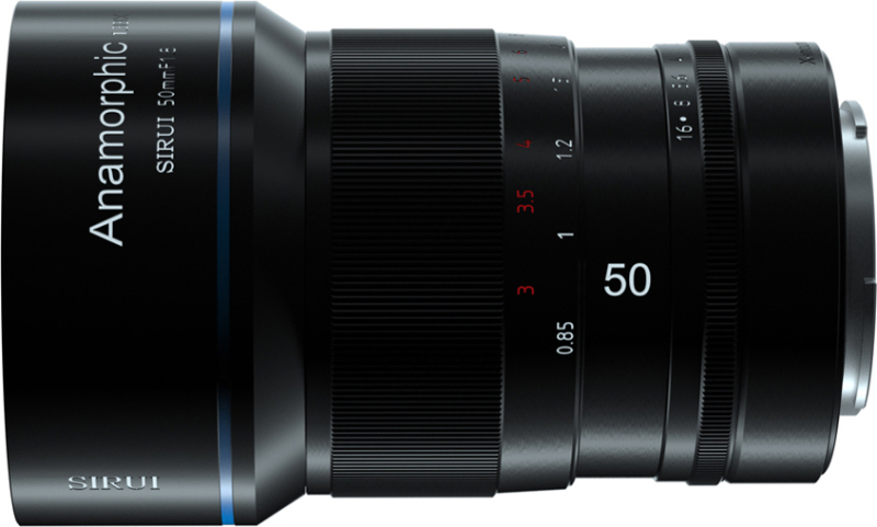 50mm F1.8 1.33X アナモルフィックレンズ SR-MEK7E