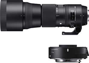 150-600mm F5-6.3 DG OS HSM Contemporary テレコンバーターキット