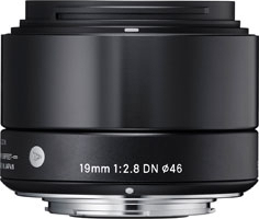19mm F2.8 DN ブラック