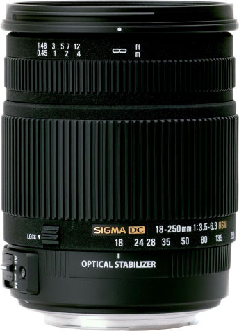 18-250mm F3.5-6.3 DC OS HSM