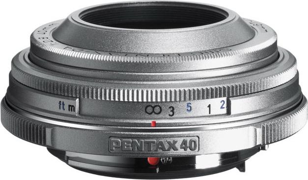 smc PENTAX-DA 40mmF2.8 Limited Silver