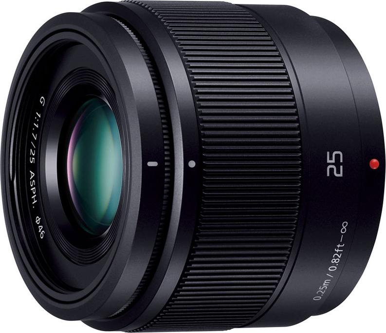 LUMIX G 25mm/F1.7 ASPH. H-H025-K