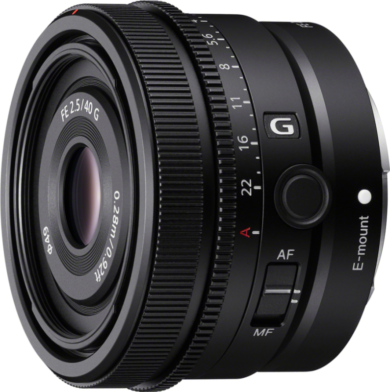 FE 40mm F2.5 G SEL40F25G