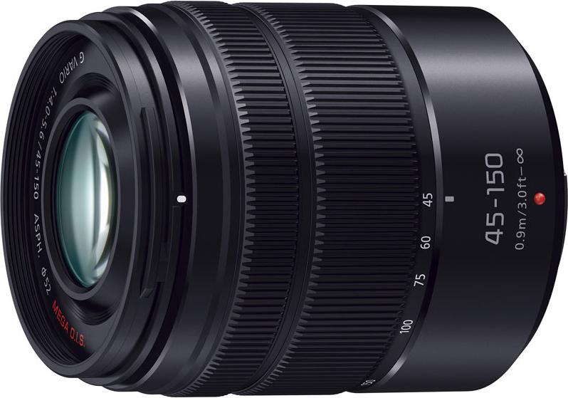 LUMIX G VARIO 45-150mm/F4.0-5.6 ASPH./MEGA O.I.S. H-FS45150-KA