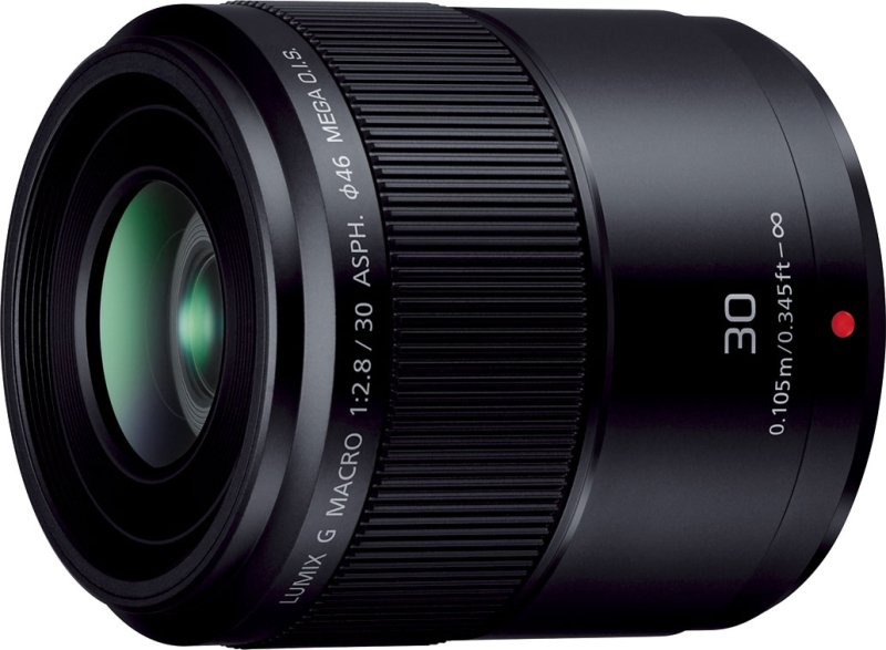 LUMIX G MACRO 30mm/F2.8 ASPH./MEGA O.I.S. H-HS030