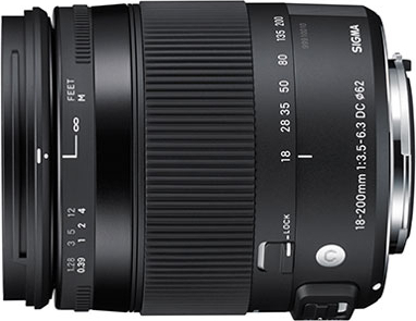 18-200mm F3.5-6.3 DC MACRO HSM