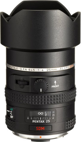 smc PENTAX-D FA645 25mmF4AL SDM AW