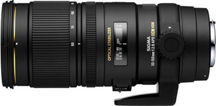 APO 50-150mm F2.8 EX DC OS HSM