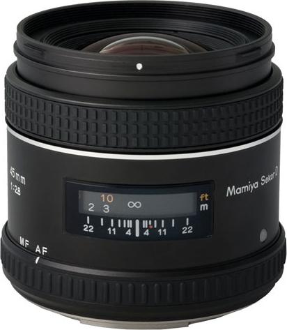 Mamiya セコール AF45mm F2.8 D