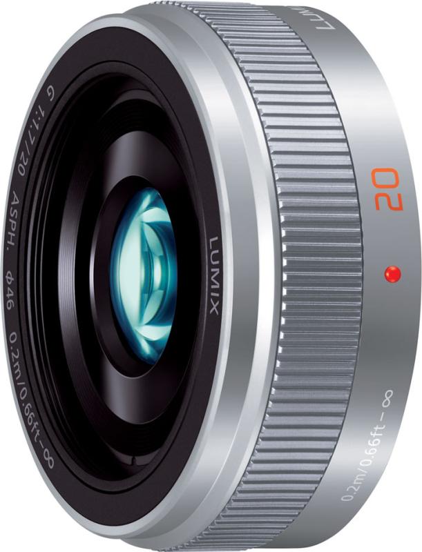 LUMIX G 20mm/F1.7 II ASPH. H-H020A-S
