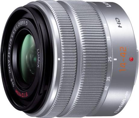 LUMIX G VARIO 14-42mm/F3.5-5.6 II ASPH./MEGA O.I.S. H-FS1442A-S
