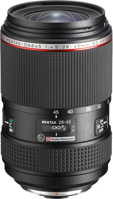 HD PENTAX-DA645 28-45mmF4.5ED AW SR