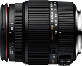18-200mm F3.5-6.3 II DC OS HSM
