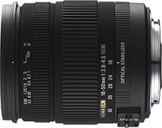 18-50mm F2.8-4.5 DC OS HSM