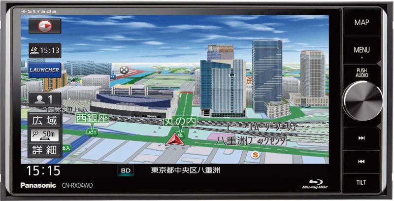 ストラーダ CN-RX04WD