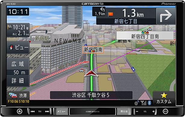 楽ナビ AVIC-RL802-D