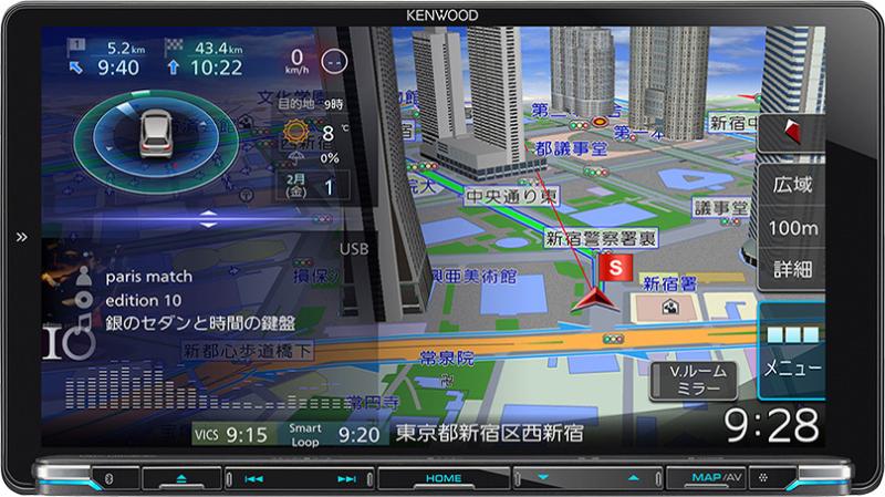 彩速ナビ MDV-M906HDL