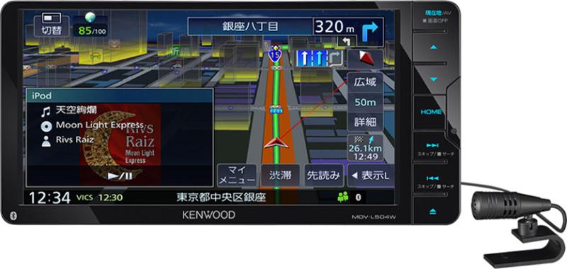 彩速ナビ MDV-L504W