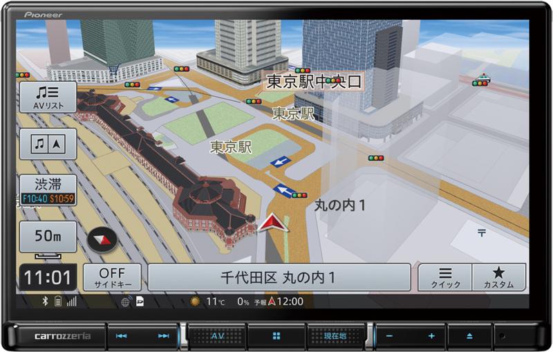 楽ナビ AVIC-RL811-D