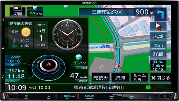 彩速ナビ MDV-M705