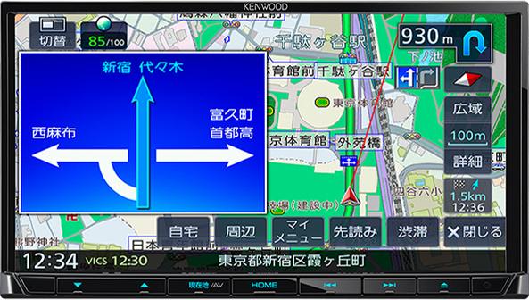 彩速ナビ MDV-D306