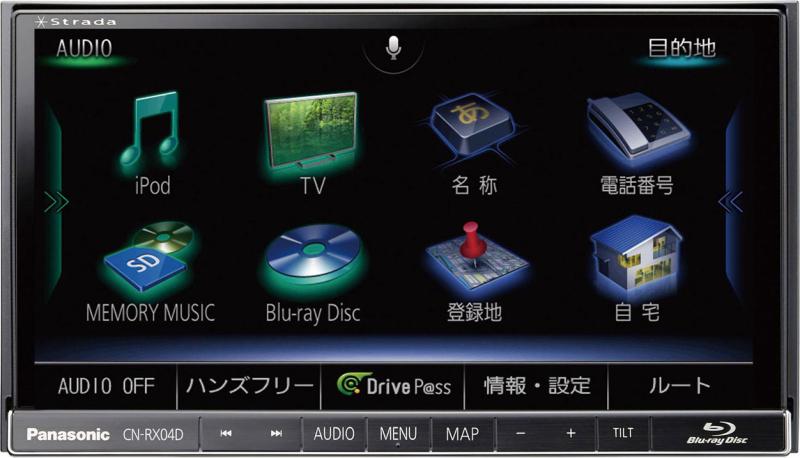 ストラーダ CN-RX04D