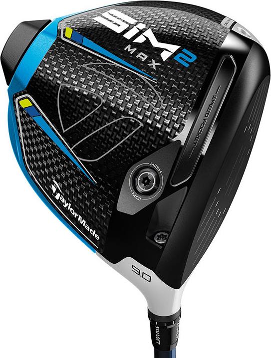 SIM2 MAX ドライバー レフティー TENSEI BLUE TM50