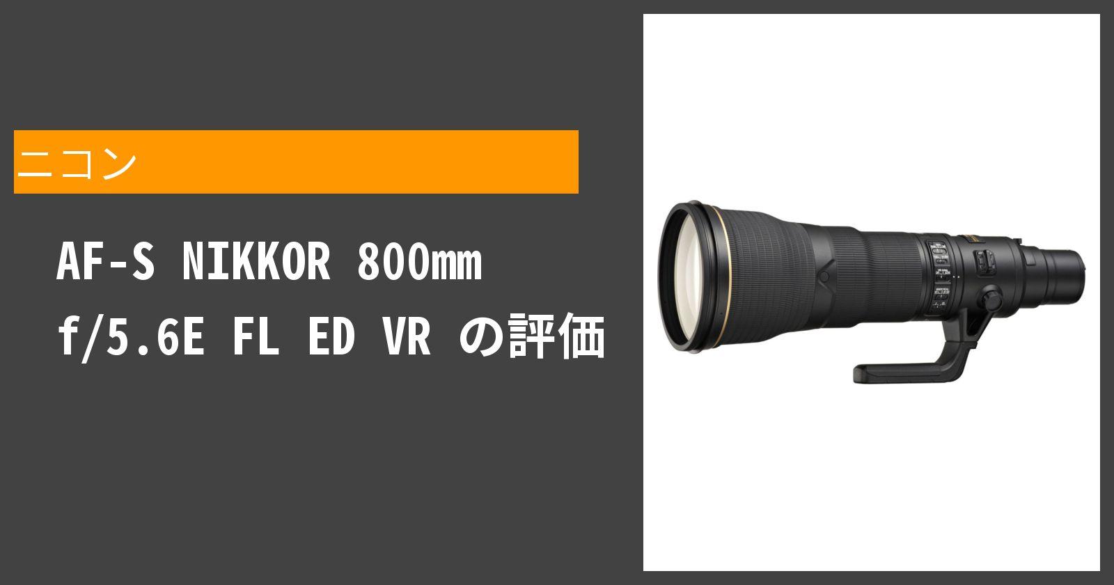 AF-S NIKKOR 800mm f/5.6E FL ED VRを徹底評価