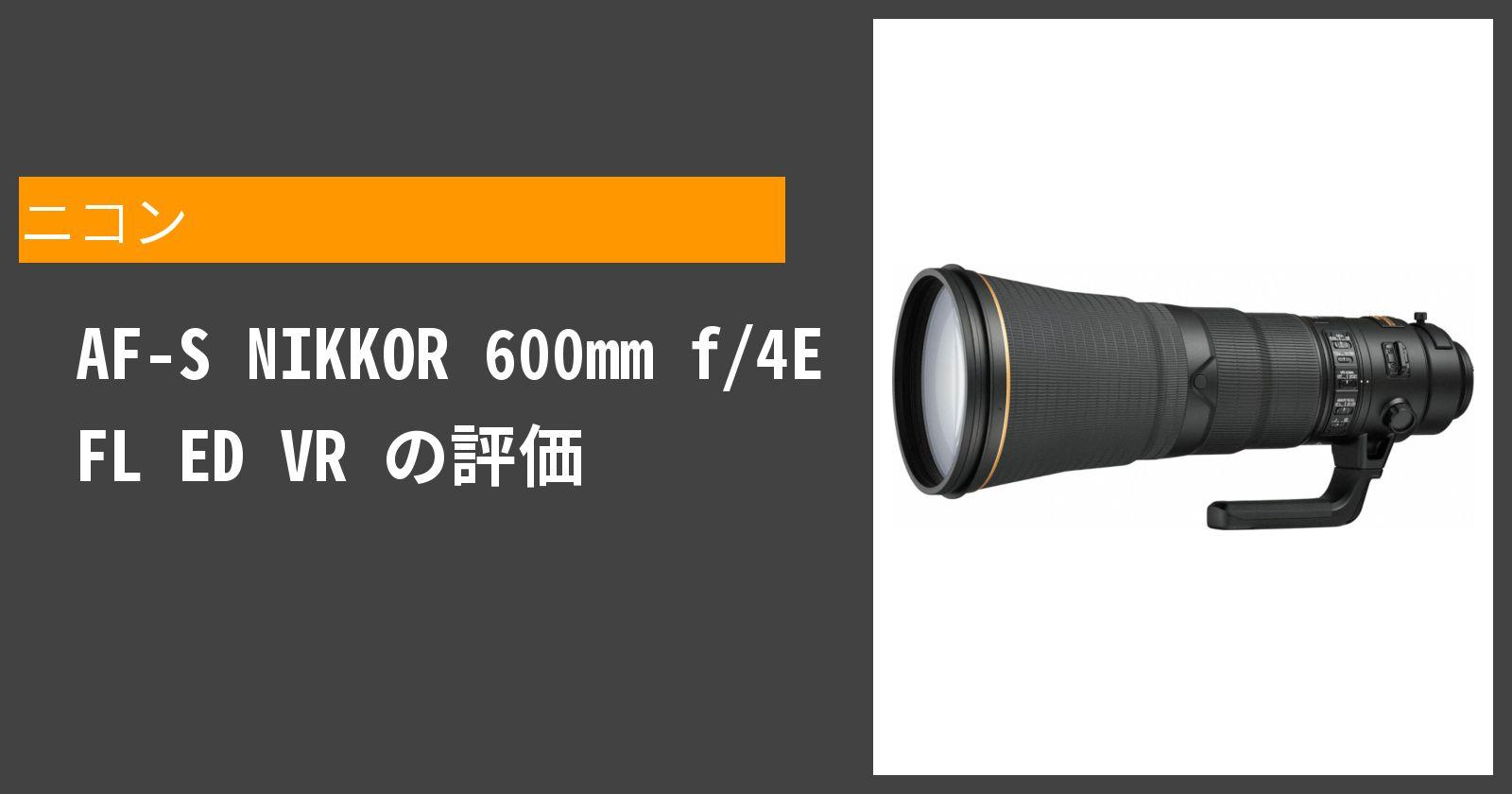 AF-S NIKKOR 600mm f/4E FL ED VRを徹底評価