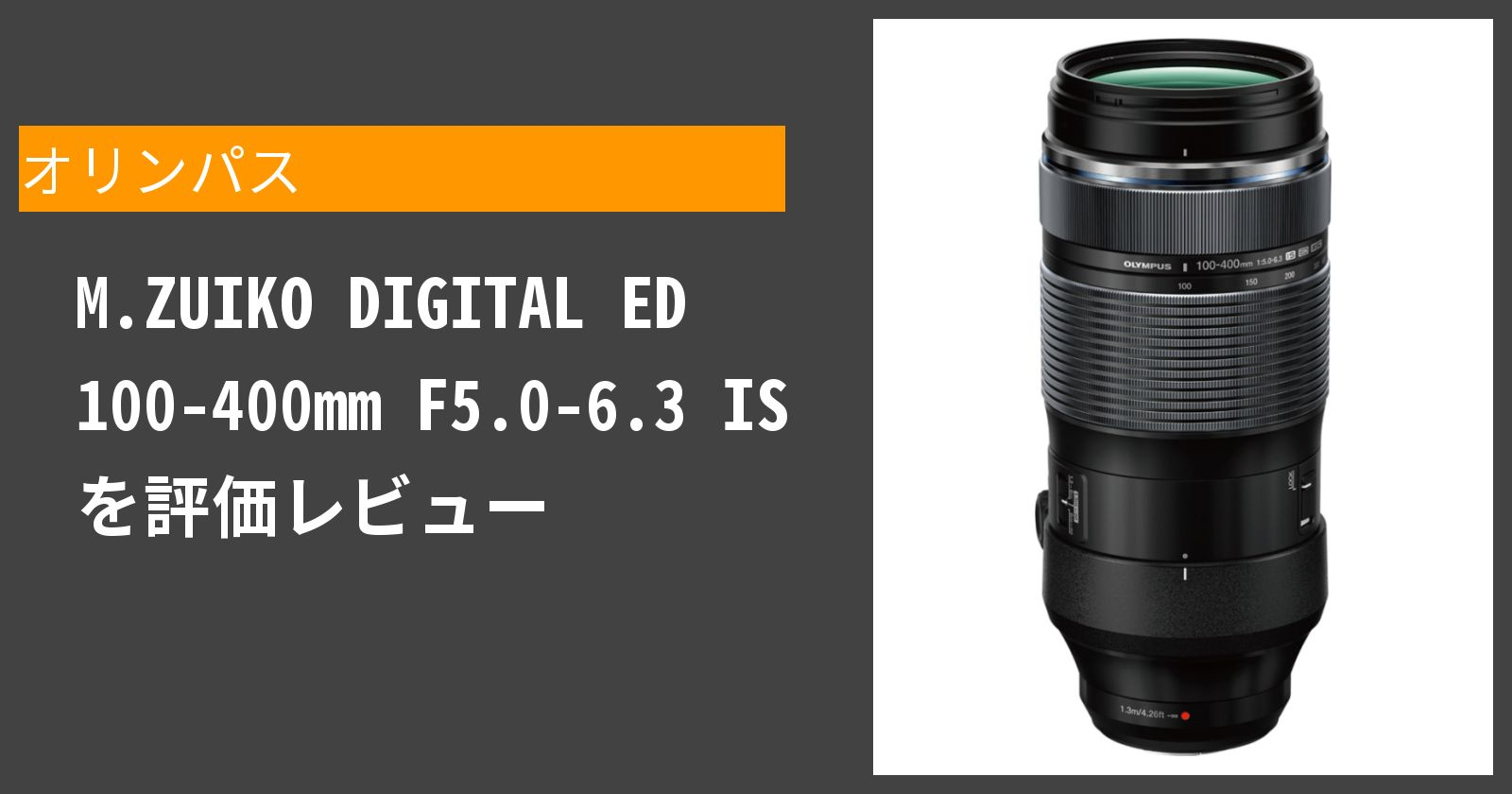 M.ZUIKO DIGITAL ED 100-400mm F5.0-6.3 ISを徹底評価