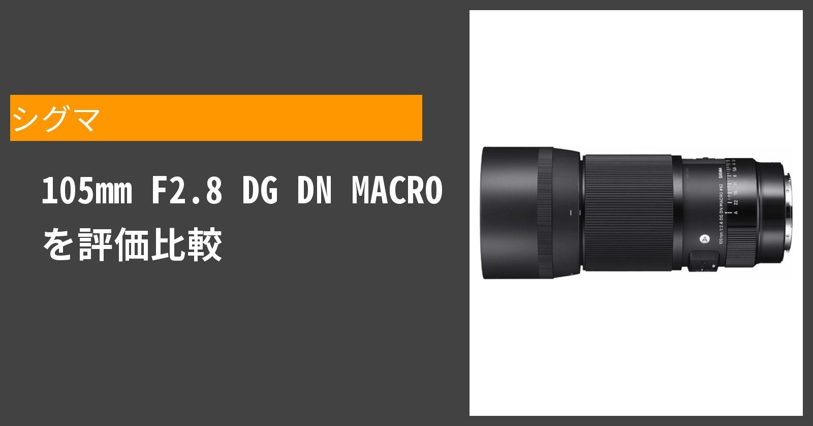 105mm F2.8 DG DN MACROを徹底評価