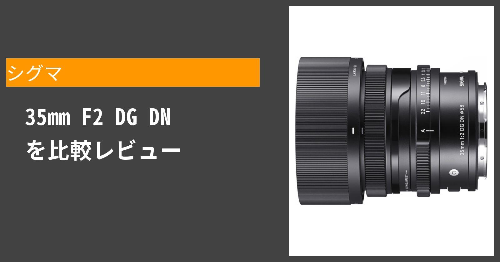 35mm F2 DG DNを徹底評価