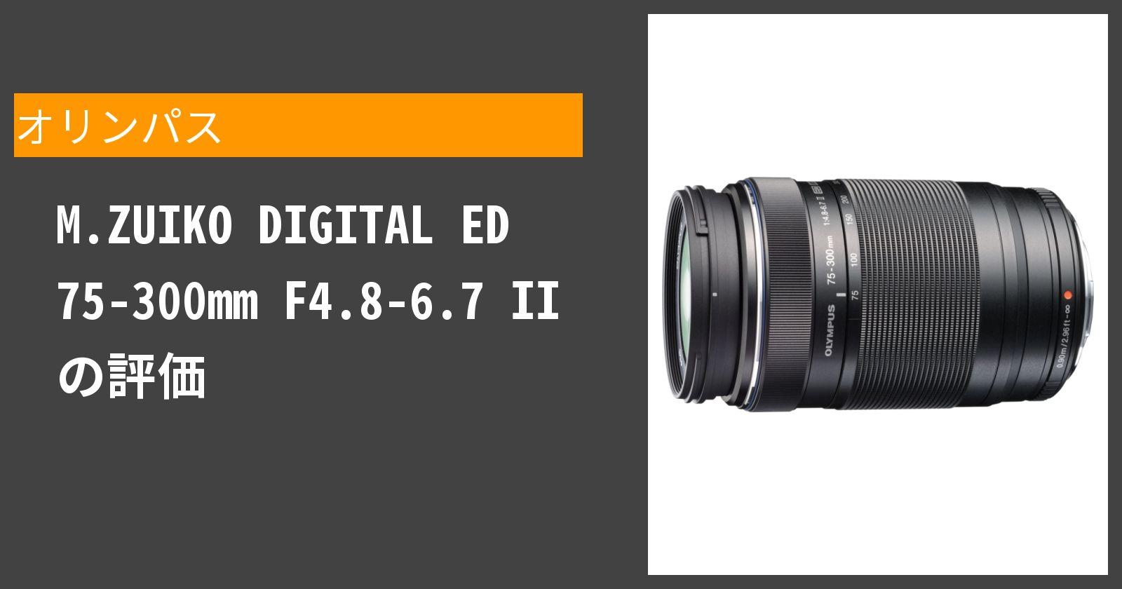 M.ZUIKO DIGITAL ED 75-300mm F4.8-6.7 IIを徹底評価