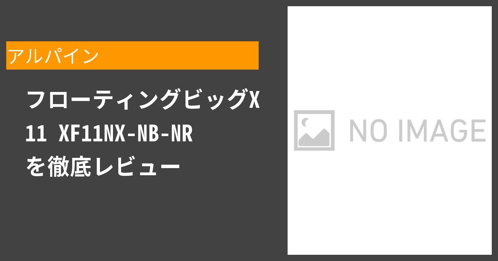 フローティングビッグX 11 XF11NX-NB-NRを徹底評価