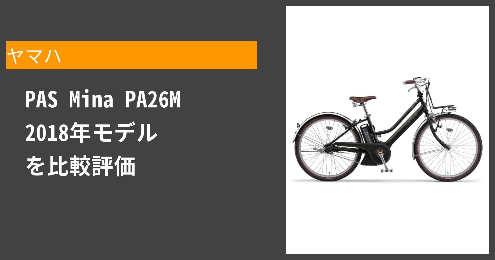 PAS Mina PA26M 2018年モデルを徹底評価