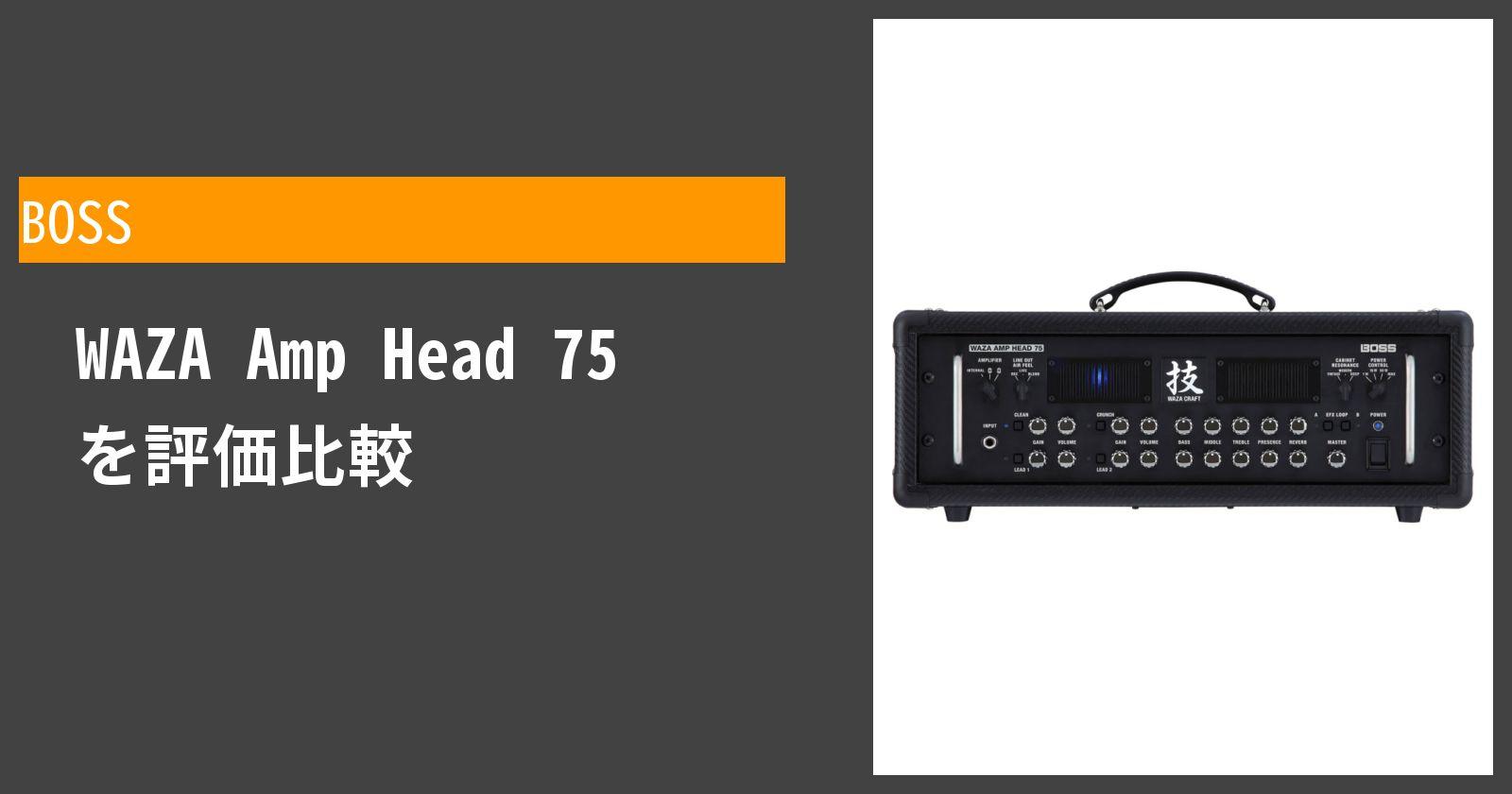 WAZA Amp Head 75を徹底評価