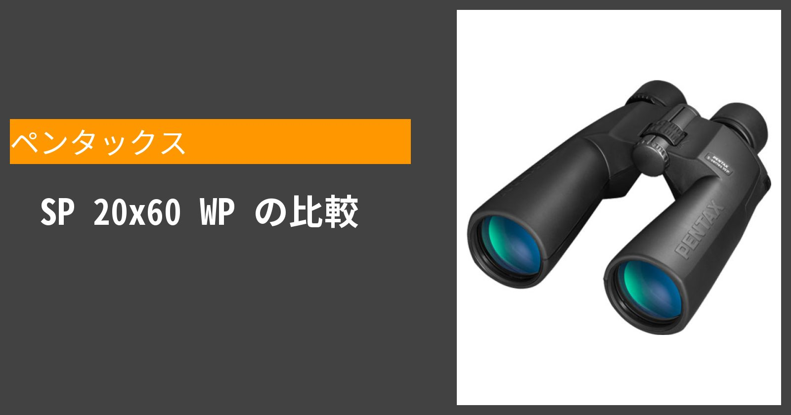 SP 20x60 WPを徹底評価
