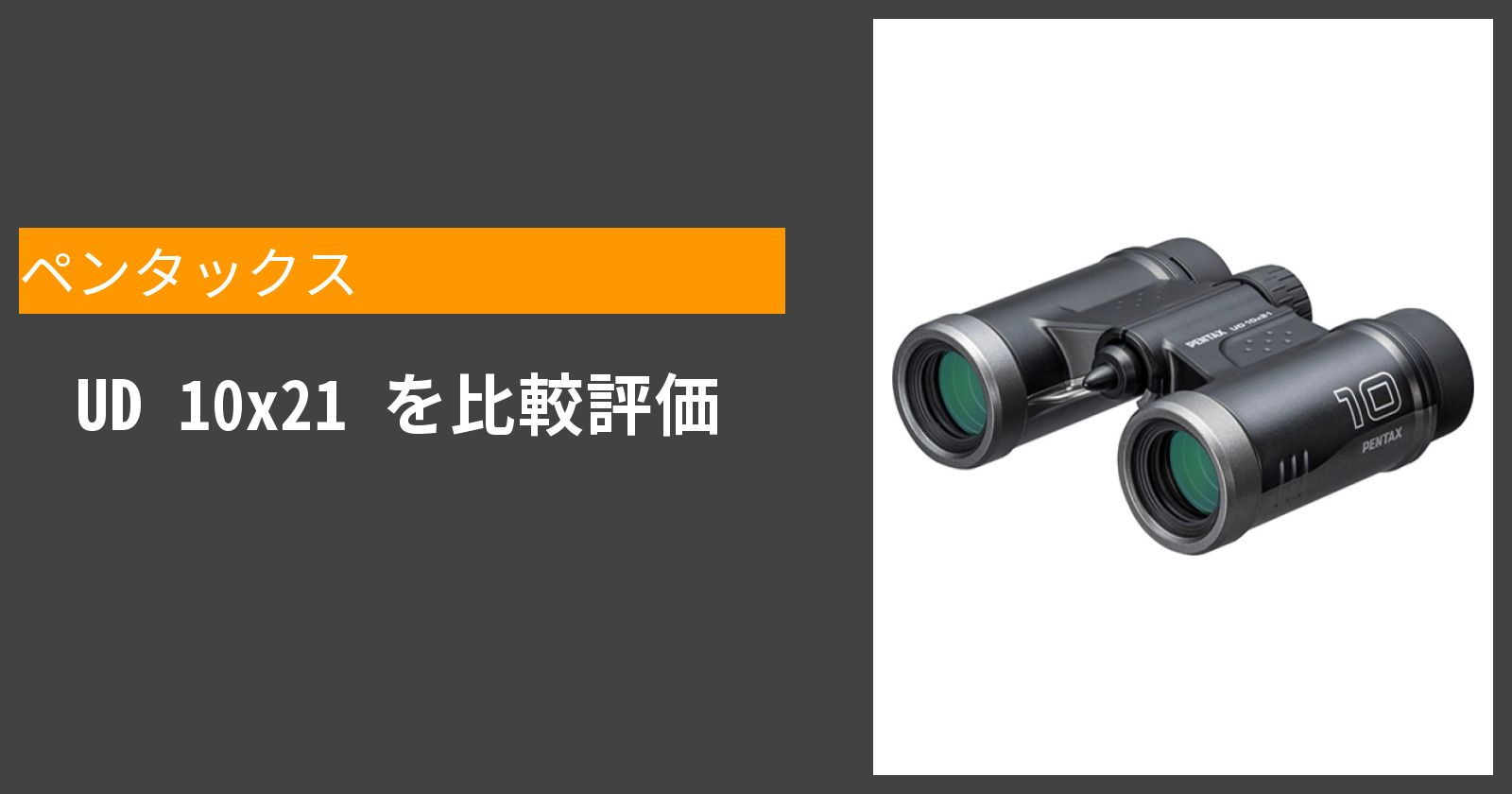 UD 10x21を徹底評価