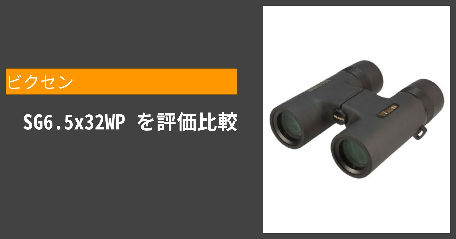 SG6.5x32WPを徹底評価