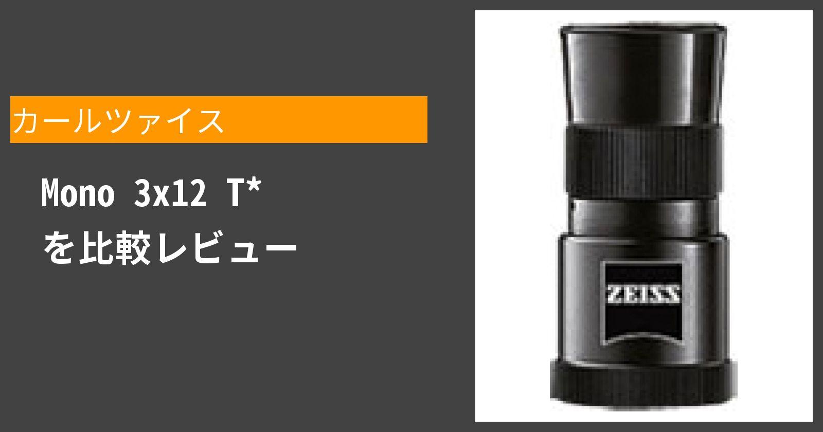 Mono 3x12 T*を徹底評価