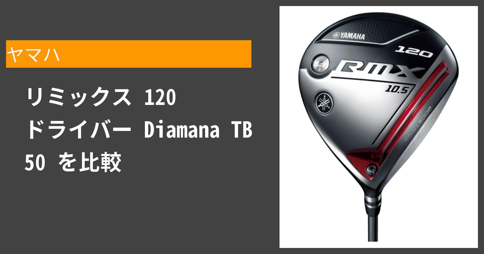 リミックス 120 ドライバー Diamana TB 50を徹底評価